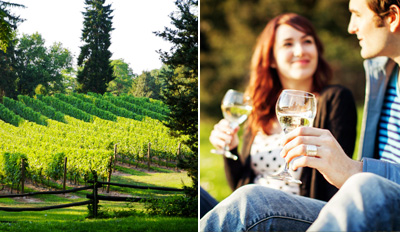 $10 - Detour Winery: Tour & 15-Pour Tasting for 2, Half Off