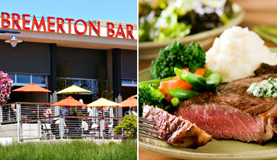 $29 - Bremerton: Alfresco Dining for 2 w/Drinks, Reg. $60