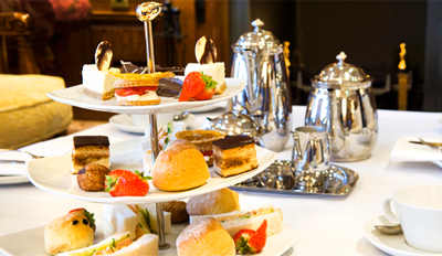£19 -- Afternoon Tea for 2 inc Lakeside Spa Access, Reg £40