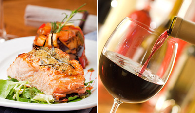 $45 - Maitland: Napa-Inspired Dinner for 2 w/Wine, Reg. $98