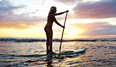 $39 - Agua Hedionda: Stand-Up Paddleboard Lesson, Reg. $90