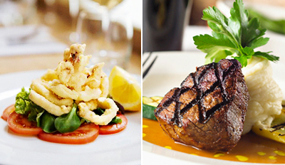 $59 - New to Downtown: Luxe Steak Dinner for 2, Reg. $123
