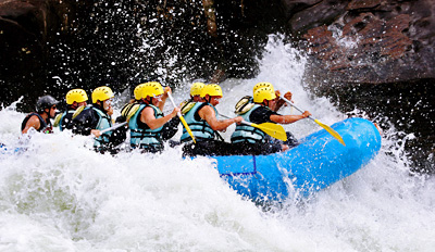 $55 - Full-Day White-Water Rafting Trip w/Camping, Reg. $110