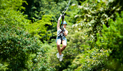 $45 - Yadkin Valley: Autumn Zip Line Tour w/Cider, Reg. $85