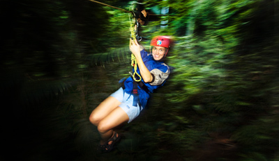 $39 - Moonlight Zip Line Tour in Yadkin Valley, Reg. $75