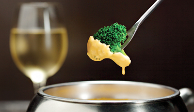 $25 - The Melting Pot: Cheese Fondue for 2 w/Bottle of Wine