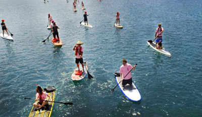 $45 -- Hamptons: Stand-Up Paddleboarding w/Drink, Reg. $103