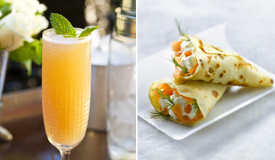 $19 - Purple Corkscrew Crepe Brunch for 2 w/Drinks, Reg. $45