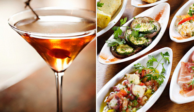 $29 - Light Bistro: Gourmet Tapas & Drinks for 2, Reg. $62