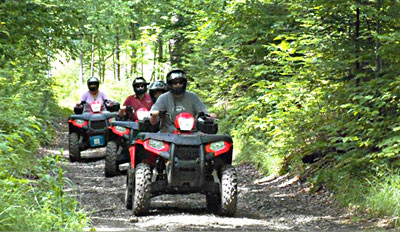 $69 - Scenic Guided ATV Tour in Vermont w/Gear, Reg. $125