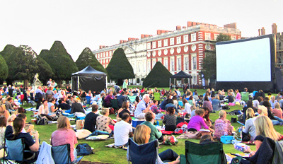 £6 & up -- Open-Air Cinema at Historic Sites, Save up to 50%