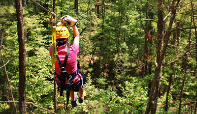 $20 - Exhilarating Zip Line Experience for 2, Half Off