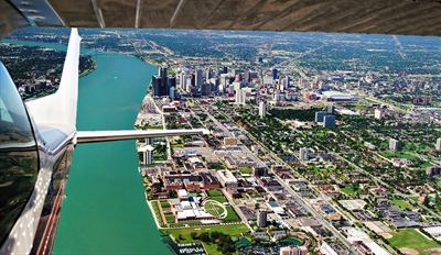 $65 -- Private Flight Tour for 2 over Michigan thru Summer