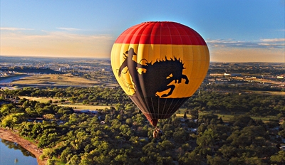 $125 -- Sunrise Hot Air Balloon Flight w/Breakfast & Bubbly