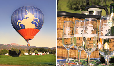 $99 - Sunrise Hot Air Balloon Ride w/Bubbly, Reg. $185