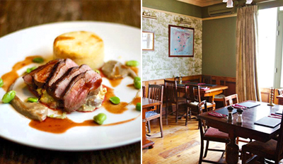 £25 - Dinner for 2 at Grade II-Listed Chester 'Gem', Reg £54