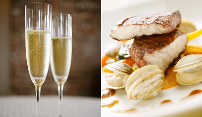 £39 - Bristol Gem: 3-Course Dinner & Bubbly for 2, Reg £79