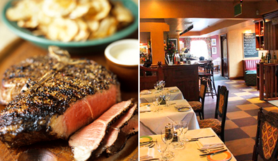 £25 -- Chateaubriand Dinner for 2 at French Bistro, Reg £57