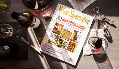 $25 -- Wine Spectator Mag: Annual Subscription, Half Off