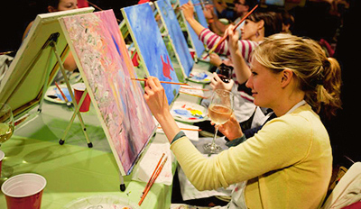 $25 -- Painting Parties at Raleigh-Area Bars, Reg. $45