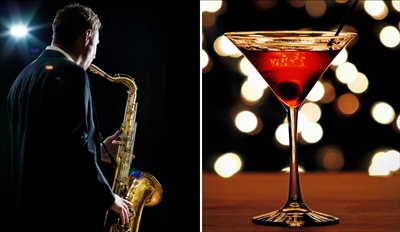 $35 - Baker's: Dinner, Drinks & Live Jazz for 2, Reg. $68
