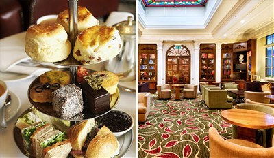 £25 -- Hyde Park: Champagne Afternoon Tea for 2, Reg £43