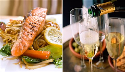 £29 - Award-Winning 3-Course Meal for 2 with Bubbly, Reg £54