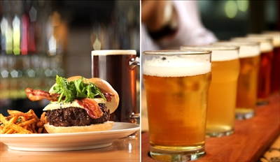 $29 - Monterey Craft Brewery Dinner for 2 w/Beers, Reg. $63
