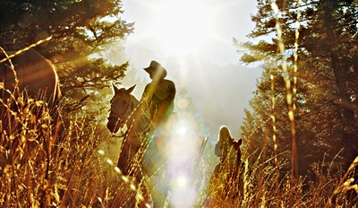$30 -- Horseback Trail Ride on Scenic 40-Acre Ranch, $60 Off