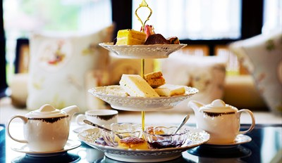 $49 - Decadent Afternoon Tea for 2 at Rowes Wharf, Reg. $78
