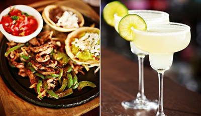 $35 - Hacienda: Top-Rated Mexican for 2 w/Drinks, Reg. $72