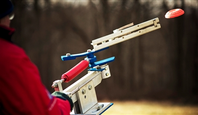 £35 - Shropshire: Clay Pigeon Shooting for 2 w/Mulled Wine