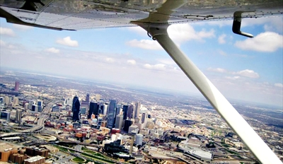 $59 - Scenic Hands-On Flight Lesson over Dallas, Half Off