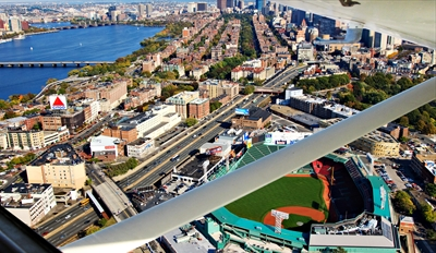 $132 - Fly over Fenway & Downtown: Tour for 3, Reg. $285
