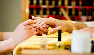$19 - La Mesa Boutique Salon: Spa Mani & Pedi, Reg. $42