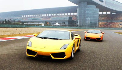$99 -- Thrilling Lamborghini Ride on Pro Racetrack, $200 Off
