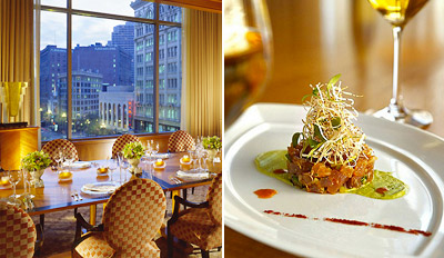 $99 - Four Seasons: Dinner for 2 w/Wine, Reg.  $216