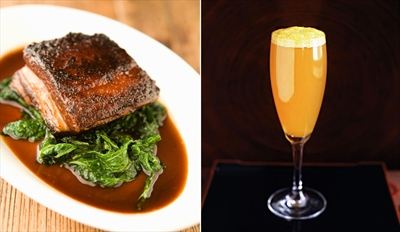 £49 - Top-Rated 6-Course Dinner & Cocktails for 2, Reg £134