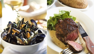 $45 - Willow Tree: Top-Rated Dinner for 2 w/Wine, Reg. $84