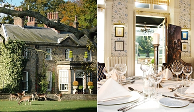 £30 - Dinner for 2 at Grade II-Listed Country House, Reg £60