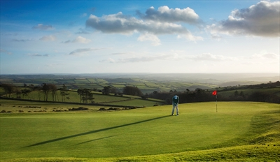 £25 -- Round of Golf for 2 at 'Unique' Dartmoor Club