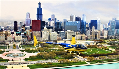 $195 -- Chicago Skyline Helicopter Tour for 2, Reg. $332