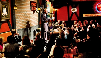 $29 -- The Comic Strip: Stand-Up Show for 2 w/$40 in Drinks