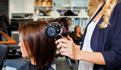 $19 -- Blowout, Wine & Truffles at Organic Salon, 60% Off
