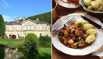 £29 -- 3-Course Dinner for 2 at Georgian Manor, Reg £60