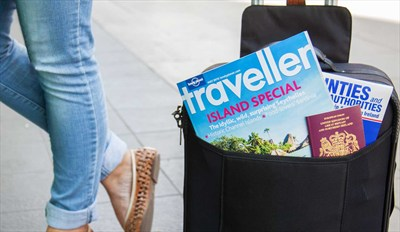 £25 -- 12 Issues of 'Lonely Planet Traveller', Reg £33