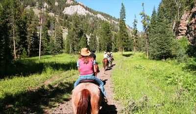 $19 -- Aspen Lodge: Horseback Ride through Rockies, Reg. $35
