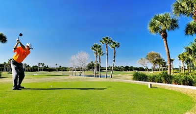 $45 -- Atlantis Country Club: Golf for 2 w/Cart, Reg. $90