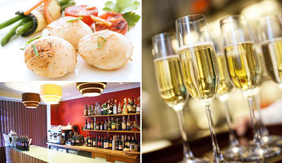 £39 - 3-Course Italian Meal for 2, w/Bubbly in Herts, Reg £89