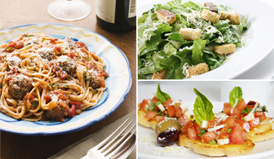 $49 - 4-Course Italian Dinner for 2 w/Wine, Reg. $115